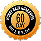 60 Day Money Back Garuantee