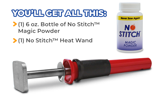 Order No Stitch™ Today!